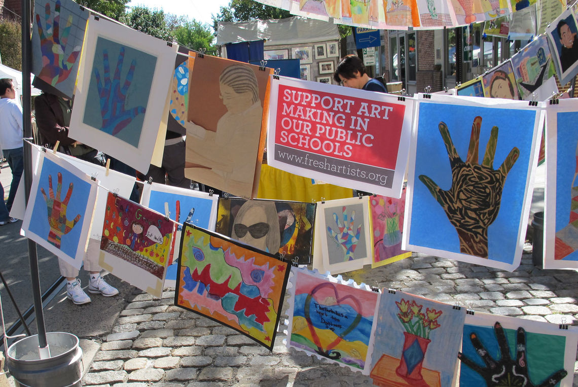 Clothesline Art Sales